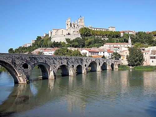 Béziers dans l'Hérault