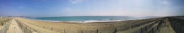 la plage de sète sur Hérault communes